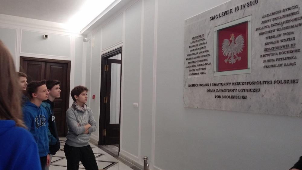 Relacja z wycieczki do Sejmu Rzeczypospolitej Polskiej