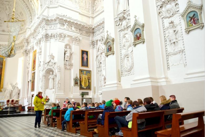 Nasi uczniowie w Wilnie…